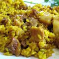 ARROZ CON POLLO Y COSTILLEJAS