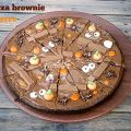 Pizza brownie Halloween.