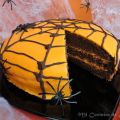 Bizcocho de Chocolate de Halloween