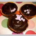 Cupcakes de chocolate (con buttermilk)