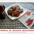 Galletas de chocolate abiscochadas