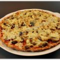 Pizza Dukan con base de carne