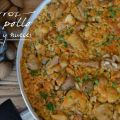 ARROZ CON POLLO, ROMERO Y NUECES