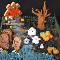 Tarta de chocolate para Halloween