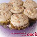 Cupcakes de chocolate con nueces y buttercream[...]