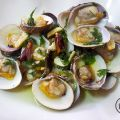 ALMEJAS AL AJILLO/Clams with garlic