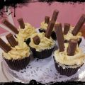 CUPCAKES DE CHOCOLATE Y KIT KAT