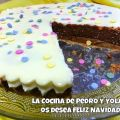 Tarta de queso cremoso con chocolate blanco y[...]