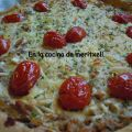 Quiche de atún y tomatitos sherry