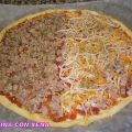Pizza con masa quebrada