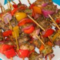 Brochetas pollo