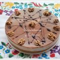 TARTA DE QUESO, MIEL Y NUECES  (THERMOMIX)