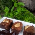 Brownies de chocolate a la canela y nueces
