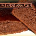 BROWNIES DE CHOCOLATE DUKAN- FASE CRUCERO