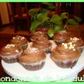 Cupcakes de chocolate y chips de chocolate[...]