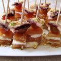 BROCHETAS DE DULCE DE MEMBRILLO, QUESO Y JAMON[...]