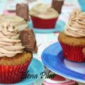 Cupcakes de chocolate Crunch