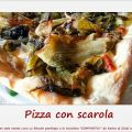 Pizza con escarola