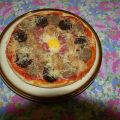 PIZZA DE BUTIFARRAS Y ATUN SERRATS