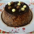 FLAN DE CHOCOLATE EXPRESS
