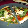 PIZZA DE ESPINACAS, TOMATES SECOS Y QUESO DE[...]