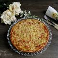 Quiche de puerro y queso con tomate - Leek and[...]
