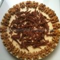 Tarta de queso y chocolate blanco con Thermomix