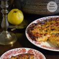 Quiche de bacon y puerros