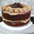 Tarta de chocolate con buttercream de Nutella