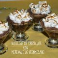 NATILLAS DE CHOCOLATE CON MERENGUE DE BIENMESABE