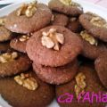 Galletas de chocolate, coco y nueces
