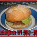 Hamburguesa 1/4 fifty-fifty