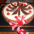 Tarta de Chocolate Blanco y Kit-Kat