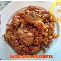 Arroz con Pollo y Bacon