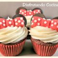Cupcakes red Velvet Minnie