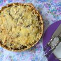 Quiche de Setas y Requesón