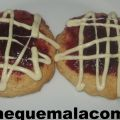 GALLETAS DE CHOCOLATE BLANCO Y FRAMBUESA