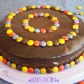 Tarta de chocolate con lacasitos y relleno de[...]