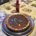 TARTA DE CHOCOLATE Y COCA-COLA EN THERMOMIX