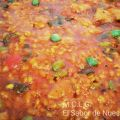 ARROZ CON POLLO Y EDAMAMES