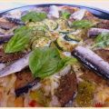 Pizza Ratatouille con Sardinillas