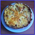 Quiche de jamón york y quesitos