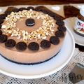 Tarta de Queso de Nutella con Oreo (Cheesecake[...]