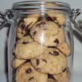 Galletas de chocolate y nueces