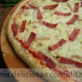 PIZZA JAMON Y CAMEMBERT