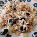 Ensalada de arroz y anchoas