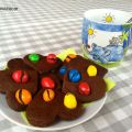 GALLETAS DE CHOCOLATE Y M&M